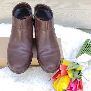 Clark's Artisan Boots, wedge booties